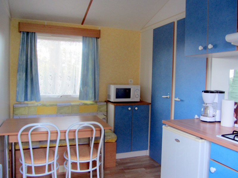Mobil home 2 chambres 4 personnes camping les sables d olonne vendee - Camping mobil home 4 chambres ...